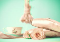 Spring decor french decor ballet shoes ballerina by CarolineMint, $12.00