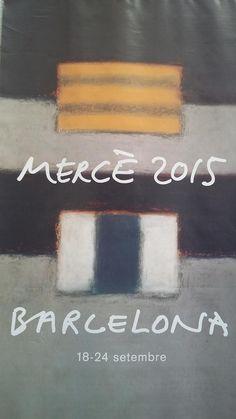Cartell de la Mercè 2015, Festa Major de Barcelona (setembre 2015)