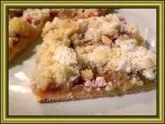 Kouzelná vařečka: Rebarborový koláč