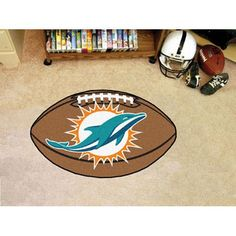 Miami Dolphins NFL Football Floor Mat (22x35)