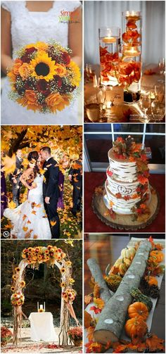 Fall Weddings » 23 Best Fall Wedding Ideas in 2017  »   ❤️ See more:  http://www.weddinginclude.com/2017/03/best-fall-wedding-ideas/