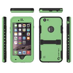 The Ghostek Atomic case is your ultimate protection against what you or nature can offer. IP68 certified! BRING IT ON! The Atomic case is Waterproof, Dust Proof, Snow Proof, Drop Proof, Shockproof and it has a HD clear scratch resistant screen guard to complete the protection. The package includes a 3.5mm headphone jack adapter and a lanyard. Easy access to all buttons, controls, camera, speaker and microphone. The Ghostek Atomic case has 6 stylish colors to choose from to fit your taste…