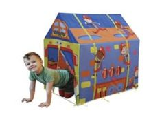 Fire House Play Tent Fire Fighter Play Fire Station with Carry Bag Adventure Games, Greatest Adventure, Kids Furniture, Furniture Decor, Gaming Station, Carry Bag, Make Your Mark, Games For Kids, Firefighter