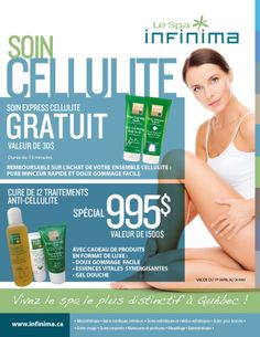 L'été arrive! Profitez de nos promotions sur nos soins cellulite!