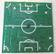 6X6 & 8X8 SOCCER FIELD MAZE ITH QUIET BOOK PAGE