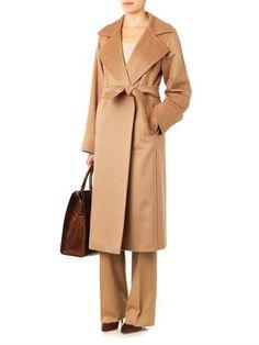 MAX MARA camel hair Manuela coat $12,226 and Pescia trousers $3,658