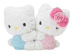 Hello Kitty & Daniel Plush Doll Set Colorful Dream
