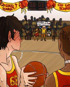 ATLA Basketball. Flameo Hotman, Flameo