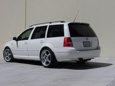 Someone's sweet wagon!!!....   FS: apr R1 diverter, Jetta Wagon Spoiler, bolts, bolt covers, OEM 1.8t downpipe.....