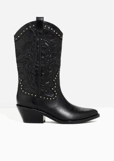 & Other Stories | Western Leather Boots