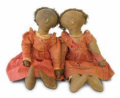 SympleTymes Cloth Art By Sherrie Nordgren: Hatch Collection of Black Cloth Dolls made between 1870 and 1920