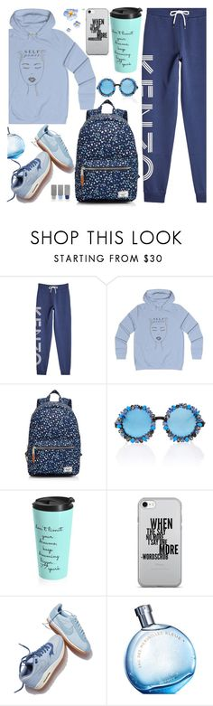 """""""Comfort is Key: Sweatpants (25)"""" by samra-bv ❤ liked on Polyvore featuring Kenzo, Herschel Supply Co., A-Morir by Kerin Rose, NIKE, Hermès and Burberry"""
