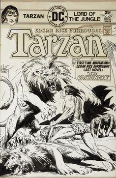 Tarzan by Joe Kubert.