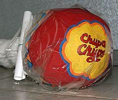 Chupa Chup lolly in thema surprises - Winter Christmas, Christmas Bulbs, Holiday, Homemade Christmas Crafts, Newspaper Basket, Diy Crafts To Do, Cardboard Art, Valentine Box, Santa Gifts