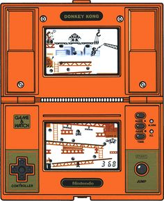 MAN!! I use to have this same game when I was a kid and Lord knows what happened to it. Best game ever!-Nintendo Game & Watch