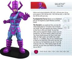 Galactus #G001 Galactic Guardians Giant Marvel Heroclix Single