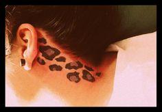 leopard tattoo.