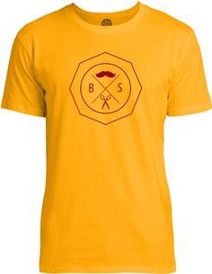 Barber Shop Sign (Red) Mens Fine Jersey T-Shirt
