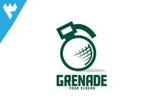 Grenade Studio Logo by wopras on Creative Market