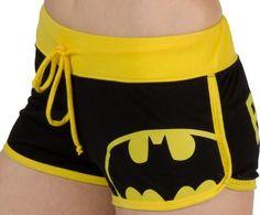 Batman shorts for derby.