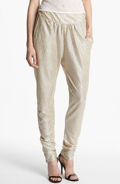 These are so cute! Wore with the right pair of shoes...stunning!  Knot Sisters 'Milan' Harem Pants $60.00