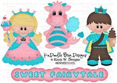 Sweet Fairytale  Original Artwork by Kristi W Designs  www.kadoodlebugdesigns.com