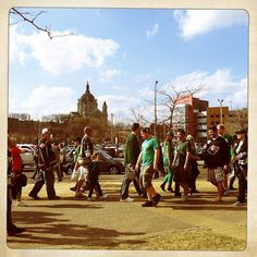 St. Patrick's Day  St. Paul, MN -2012