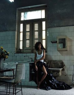 awesome Anais Mali heads to Cuba for Vogue Spain March 2016 by Benny Horne  [fashion]