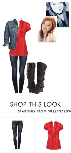 """""""Danny Rodrigue"""" by only-god-can-judge-me ❤ liked on Polyvore featuring Charlotte Russe, UNIONBAY and Eddie Bauer"""