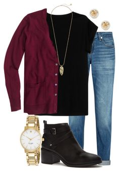 """""""Frankie Valli - cant keep my eyes off you """" by madelyn-abigail ❤ liked on Polyvore featuring rag & bone, Forever 21, Isabel Marant, J.Crew, Kendra Scott, Tory Burch, Kate Spade, women's clothing, women's fashion and women"""