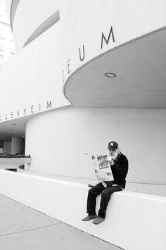 #fc3arch: Architect Frank Lloyd Wright's Guggenheim Museum (New York City)