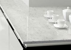 Tendencias en cocinas con mármol: nueva serie Nébula Alpha de @silestone