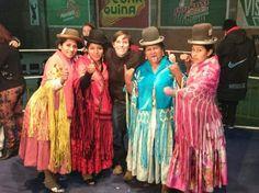 #Cholita #wrestlers