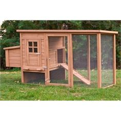 """""""The Foursquare"""" - Perfect for up to 4 chickens, this coop offers everything you need to make your small flock of chickens at home."""