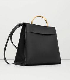 Mango Metallic Handle Tote Bag Borse In Pelle 11b3ee894b5