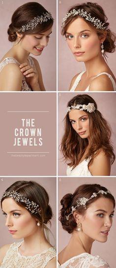 crown ideas for wedding hair - so classy