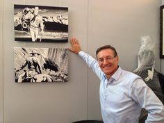 Fabio Civitelli e as suas telas texianas
