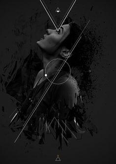 Minimal • by LyKy Dragos, via Behance