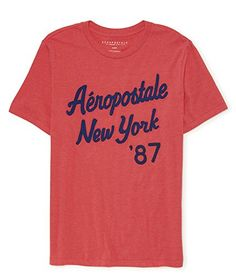 Aeropostale Men's Short Sleeve Aero-87 Marled Logo Graphi... https://www.amazon.com/dp/B01F2KYP2G/ref=cm_sw_r_pi_dp_x_vRZQxbK7RZHCV