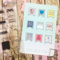 Sneak Peek Alert!!! Just playing around with @studio_l2e's brand new flag builder stamp set (that just launched yesterday!) and some of my stickers from the spring collection and I AM IN LOVE!!! These stamps and more spring collection stickers will be featured in my InkWELLpress Planner video that I am filming today. The stickers are launching this weekend! #theresetgirlshop #theresetgirlchannel #studiol2e #stamps #stampslovestickers #plannerdecorating #projectlife #stickers…