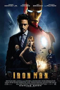 Iron Man : affiche 2 du film iron man | zoom-Cinema.fr