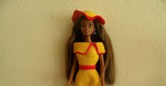 Barbie, Haken, gratis patroon
