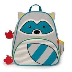 Deze Skip Hop Wasbeer schooltas Rugzak vind je op www.liefzebraatje.nl