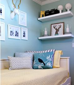 Purple Bedroom Ideas for Small Rooms . 41 Awesome Purple Bedroom Ideas for Small Rooms . 20 Gorgeous Small Bedroom Ideas that Boost Your Freedom Trendy Bedroom, Girls Bedroom, Diy Bedroom, Bedroom Loft, Bedroom Small, Spare Bedroom Bed Ideas, Blue Bedroom, Box Room Bedroom Ideas, Spare Room Decor