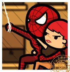 Spider-Man & Mary Jane