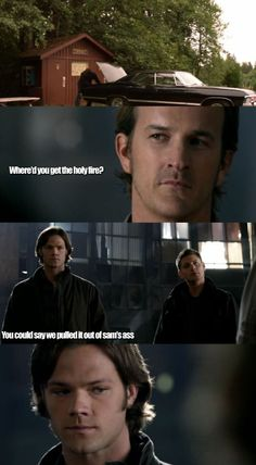"""""""You could say we pulled it out of Sam's ass."""" 