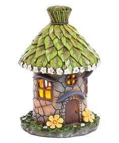 Look at this Light-Up Fairy Hut on #zulily today!