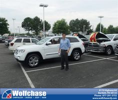 #HappyAnniversary to Eugene Kang on your 2013 #Jeep #Grand Cherokee from Rodney Gool at Wolfchase Chrysler Jeep Dodge!