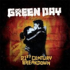 Green Day - 21st Century Breakdown Warm and grungy, this cd cover art also captures a tinge of teenage angst