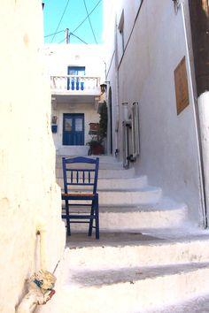 Solitude of a empty chair - Leros island (Greece)